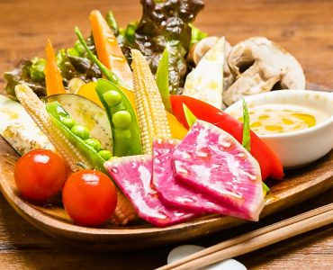 焼き野菜盛り合せ 1410円
